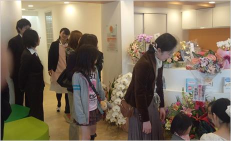 お子様連れも多くご来院いただきました。さすが横浜随一のベットタウンです。