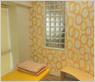 待合室の隅には隔離室を設けており、感染防止、重症患者への配慮をしました。